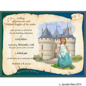 princess invite