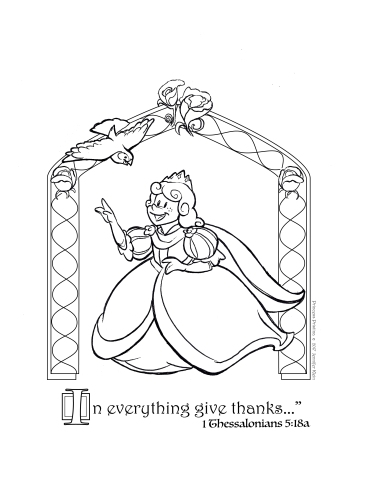 PP Thankfulness - CHILD SHEET